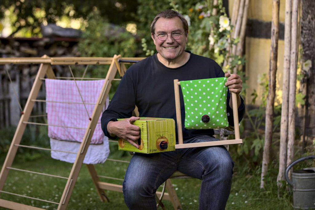 Matthias Schulten Trockenrolli Zapfbox