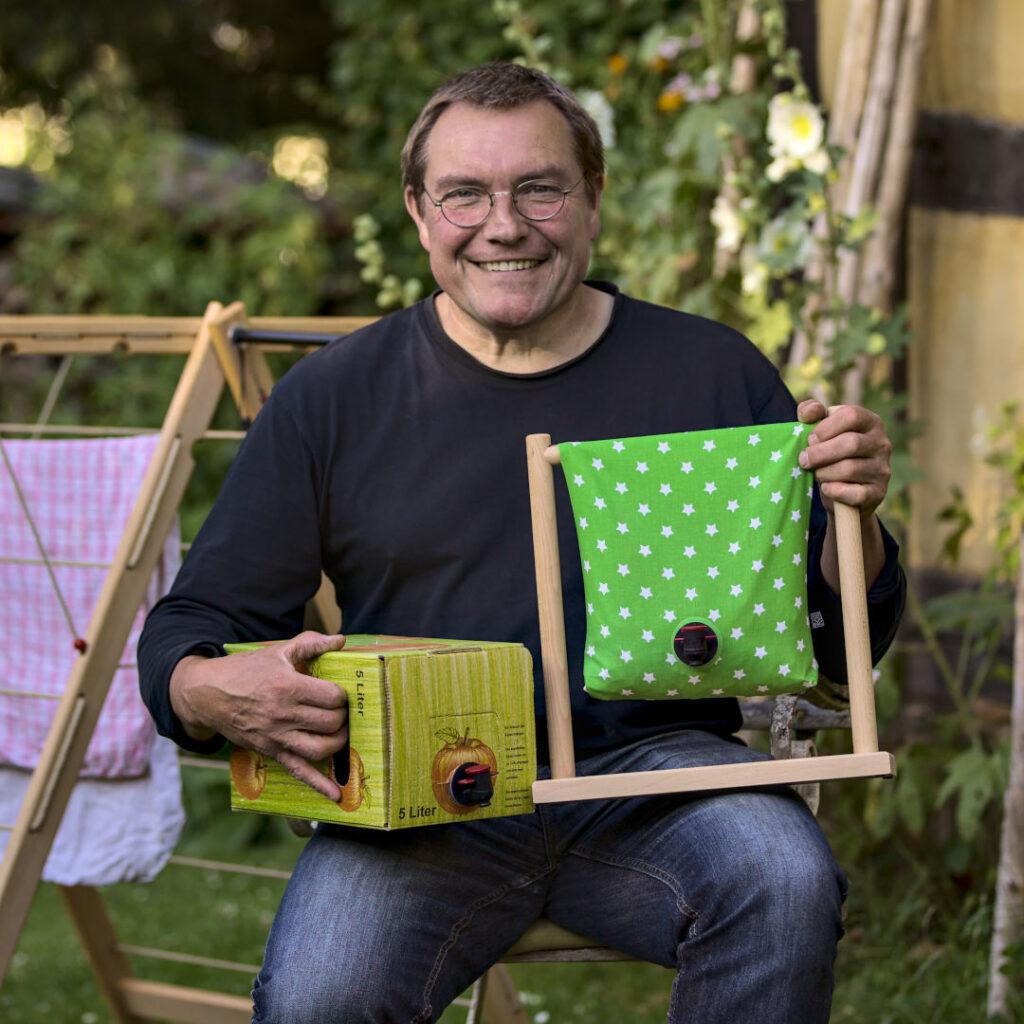 Matthias Schulten Trockenrolli Zapfbox 1zu1