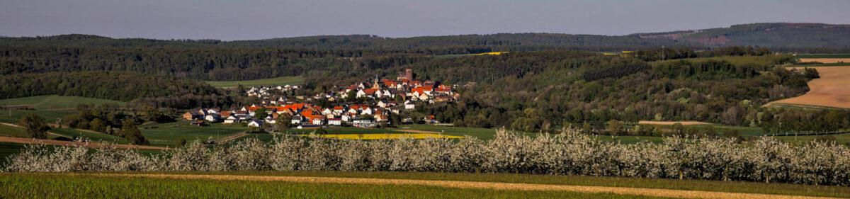 Trendelburg Landschaftsaufnahme